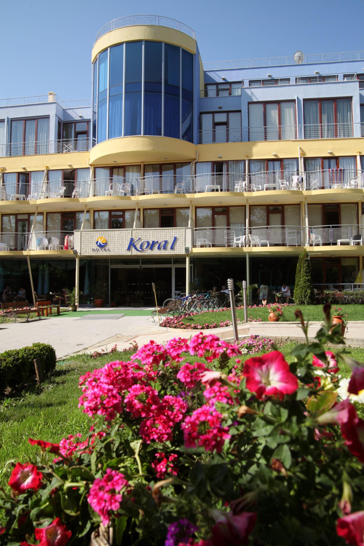 Отель Корал