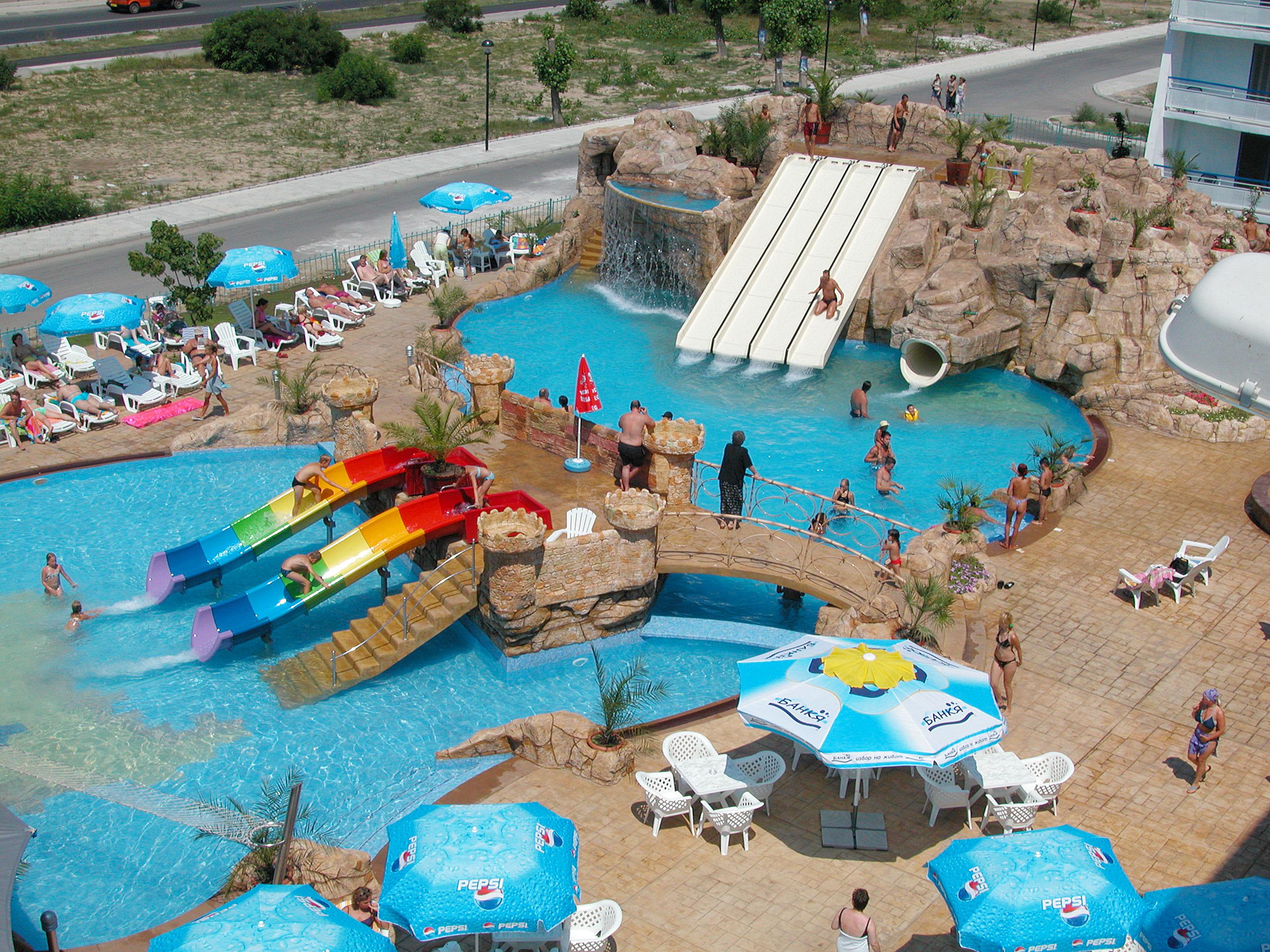 hotels aquapark summer holiday bulgaria kotva