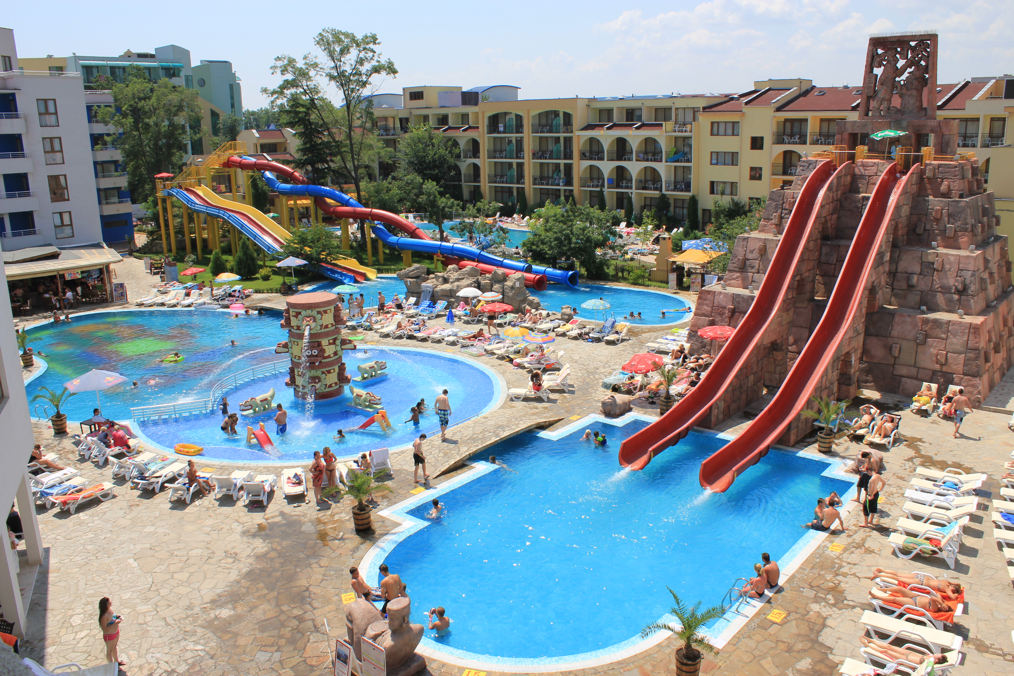 Find A Hotel With Aqua Park For A Summer Holiday In Bulgaria