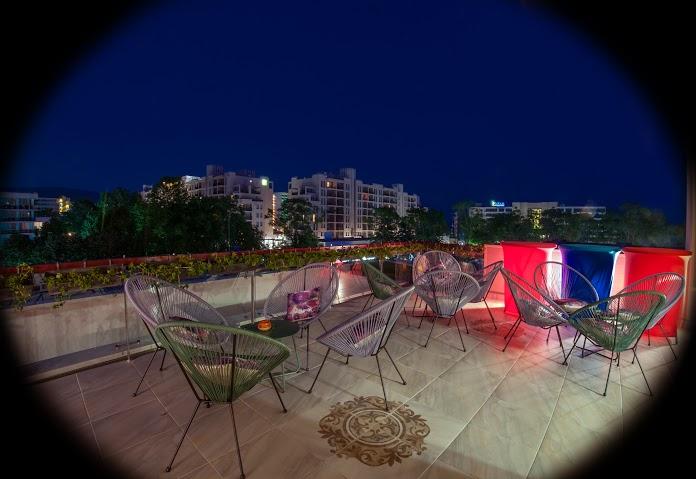 hotel mercury sunny beach sky bar
