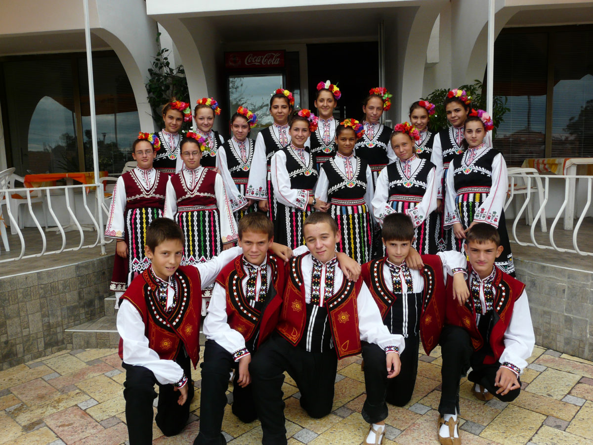 Sea of folk rhythms in Balchik