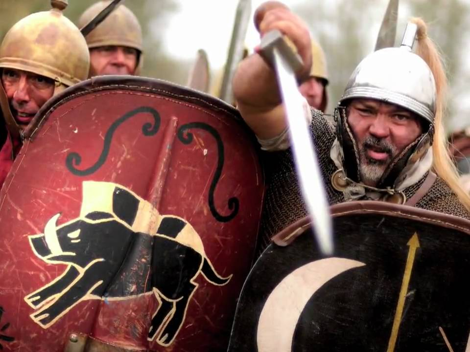 spartacus sklave gladiatir festival