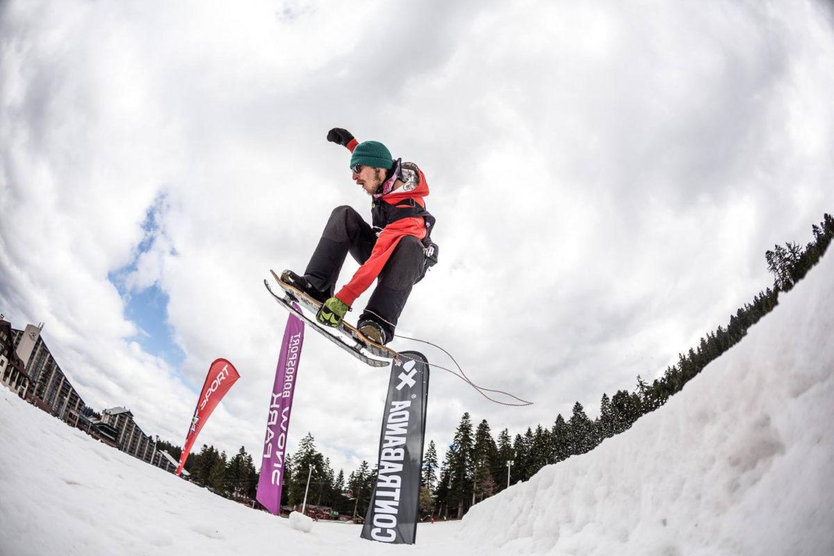 snowboard starts borovets